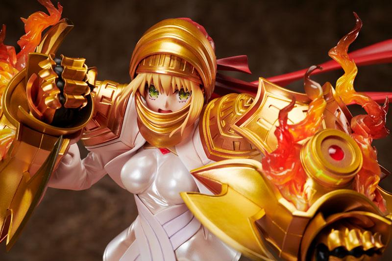 造形深化 劇的STATUE『《セイバー レガリア》ネロ・クラウディウス』Fate/EXTELLA 1/7 完成品フィギュア-008