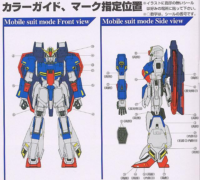 【再販】PG 1/60『MSZ-006 Zガンダム〈パーフェクト・トランスフォーム〉』プラモデル-013