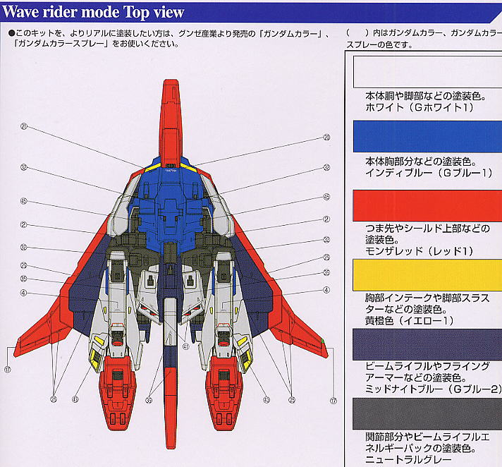 【再販】PG 1/60『MSZ-006 Zガンダム〈パーフェクト・トランスフォーム〉』プラモデル-016