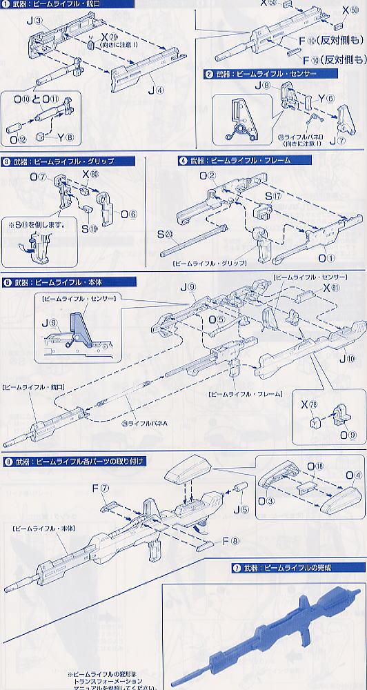 【再販】PG 1/60『MSZ-006 Zガンダム〈パーフェクト・トランスフォーム〉』プラモデル-034