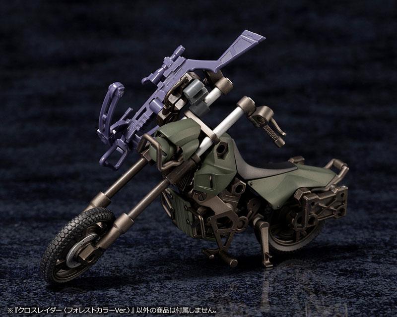 ヘキサギア オルタナティブ『クロスレイダー〈フォレストカラーVer.〉』1/24 キットブロック-009