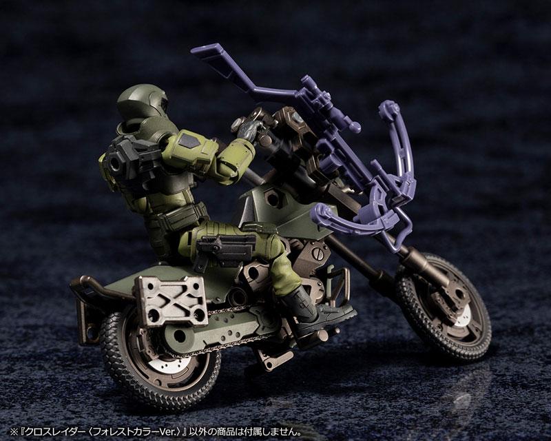 ヘキサギア オルタナティブ『クロスレイダー〈フォレストカラーVer.〉』1/24 キットブロック-012