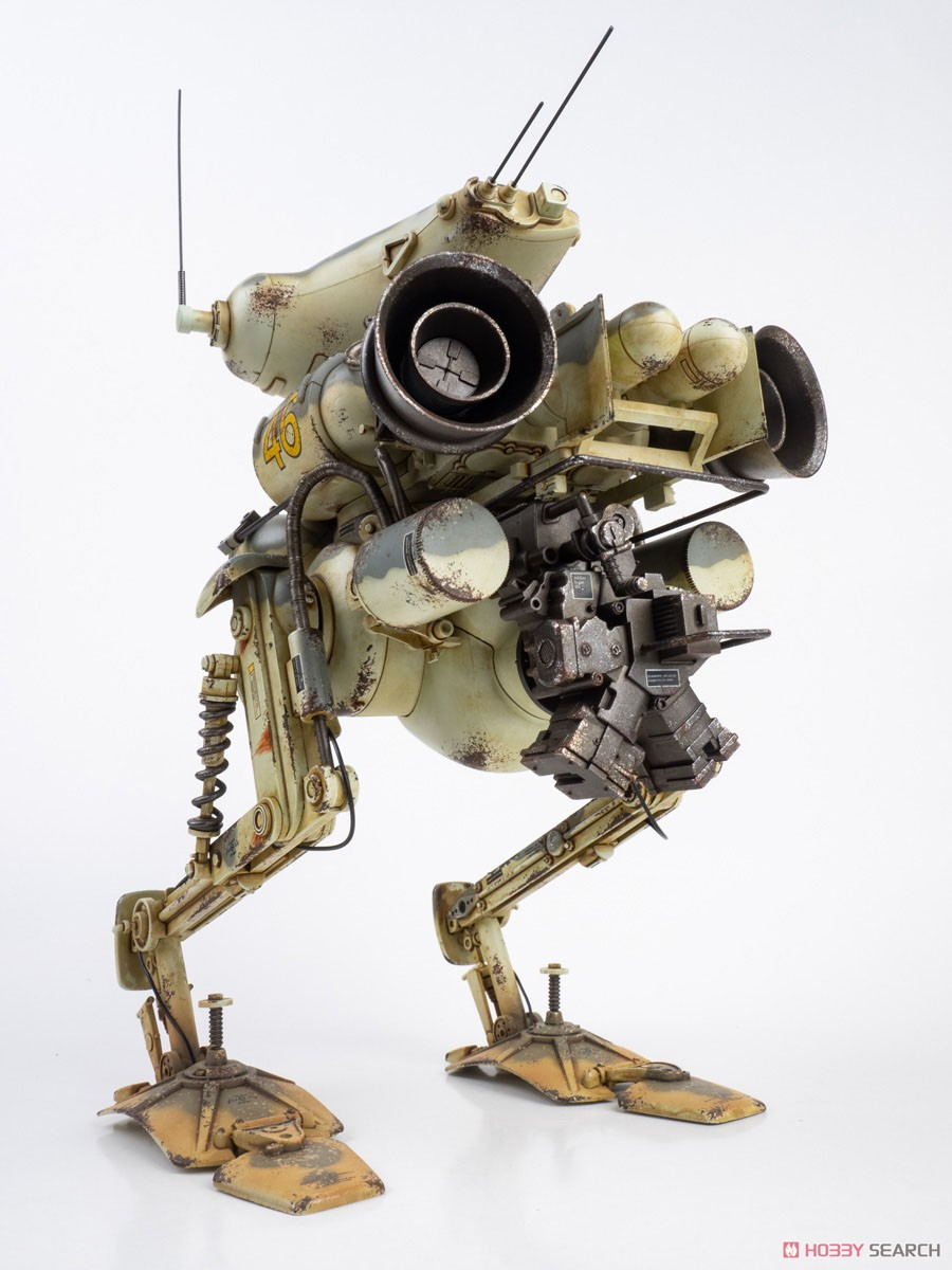 マシーネンクリーガー『ルナガンス(限定版 ウェザリング塗装Ver)』 1/16 可動フィギュア-005