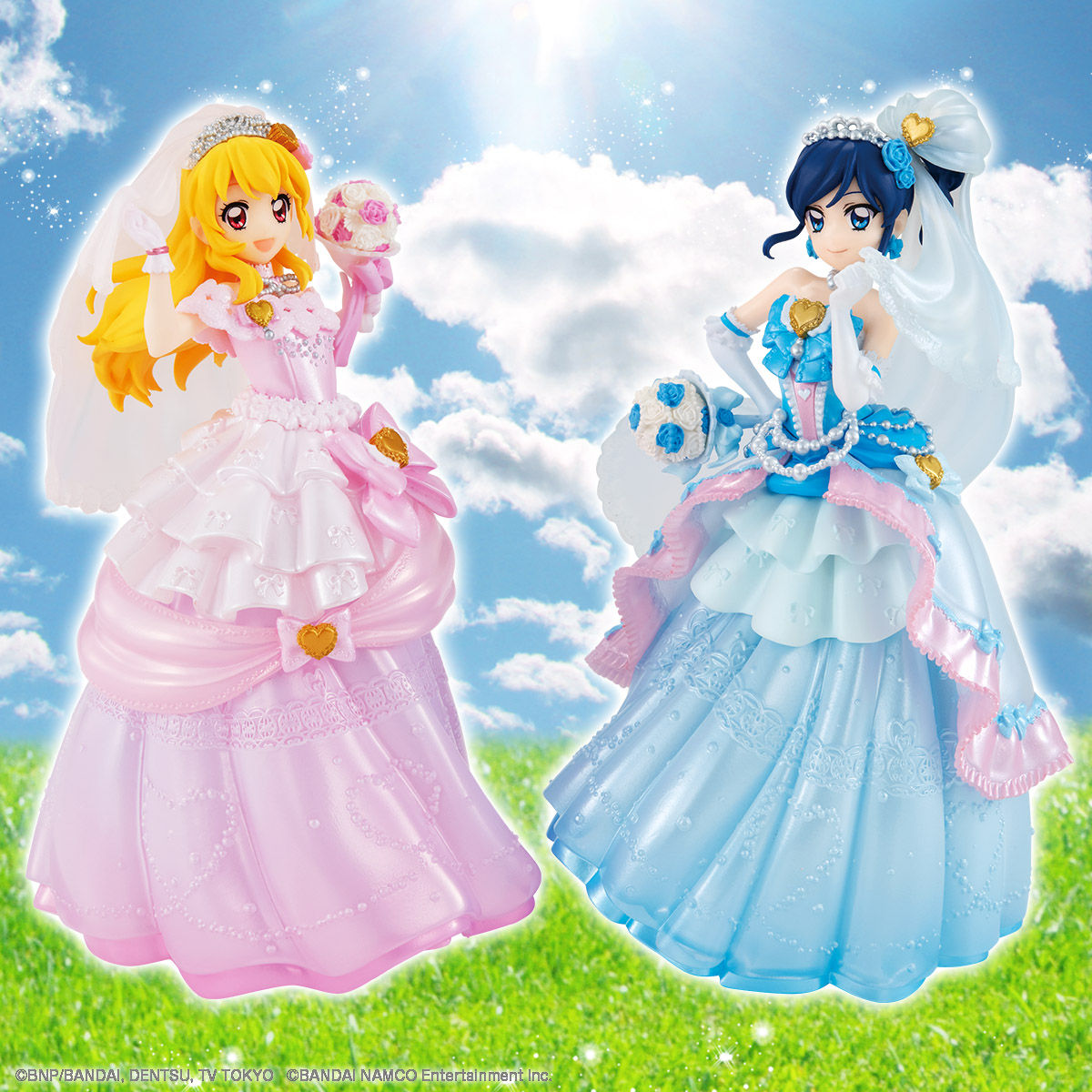 【限定販売】HG GIRLS『アイカツ!フォト on ステージ!!「青い苺」』2体セット-001