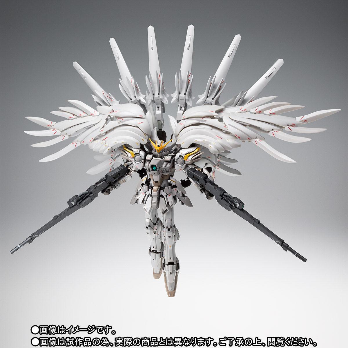 【限定販売】FIX FIGURATION METAL COMPOSITE『ウイングガンダム スノーホワイト プレリュード』新機動戦記ガンダムW 可変可動フィギュア-002