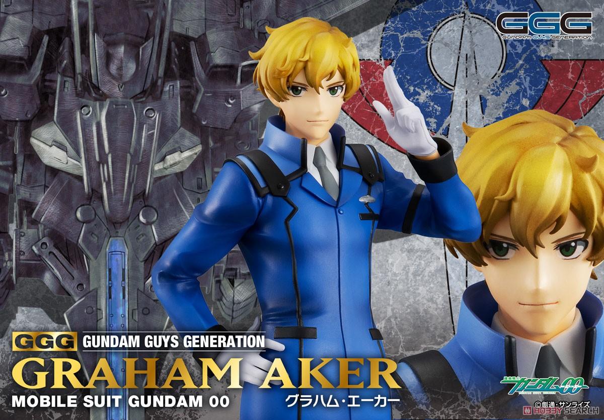 GGG『グラハム・エーカー』機動戦士ガンダム00 1/8 完成品フィギュア-009