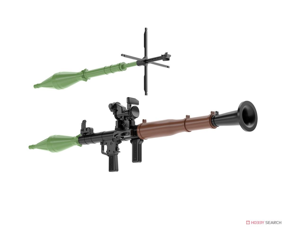 リトルアーモリー LA061『RPG7タイプ』1/12 プラモデル-004