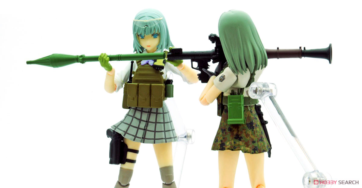 リトルアーモリー LA061『RPG7タイプ』1/12 プラモデル-012