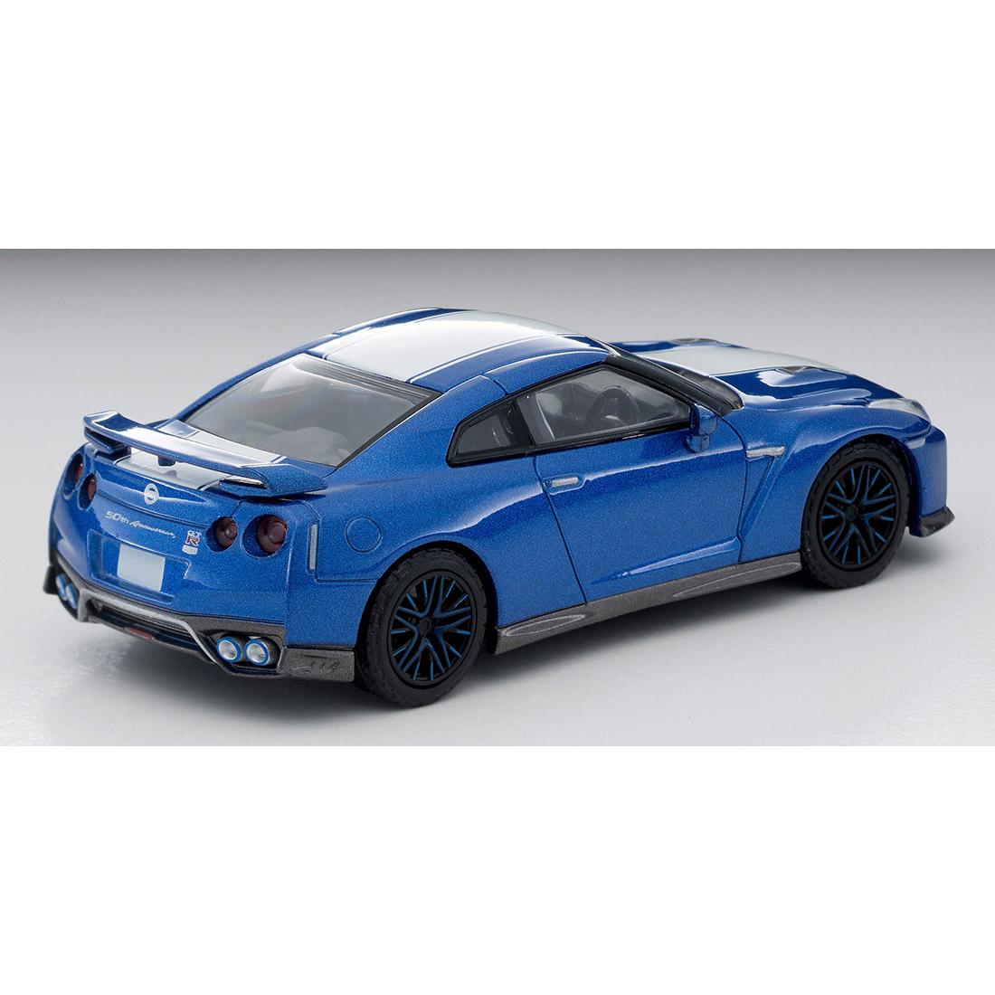 トミカリミテッドヴィンテージ ネオ LV-N200a『日産GT-R 50th ANNIVERSARY(青)』1/64 ミニカー-003