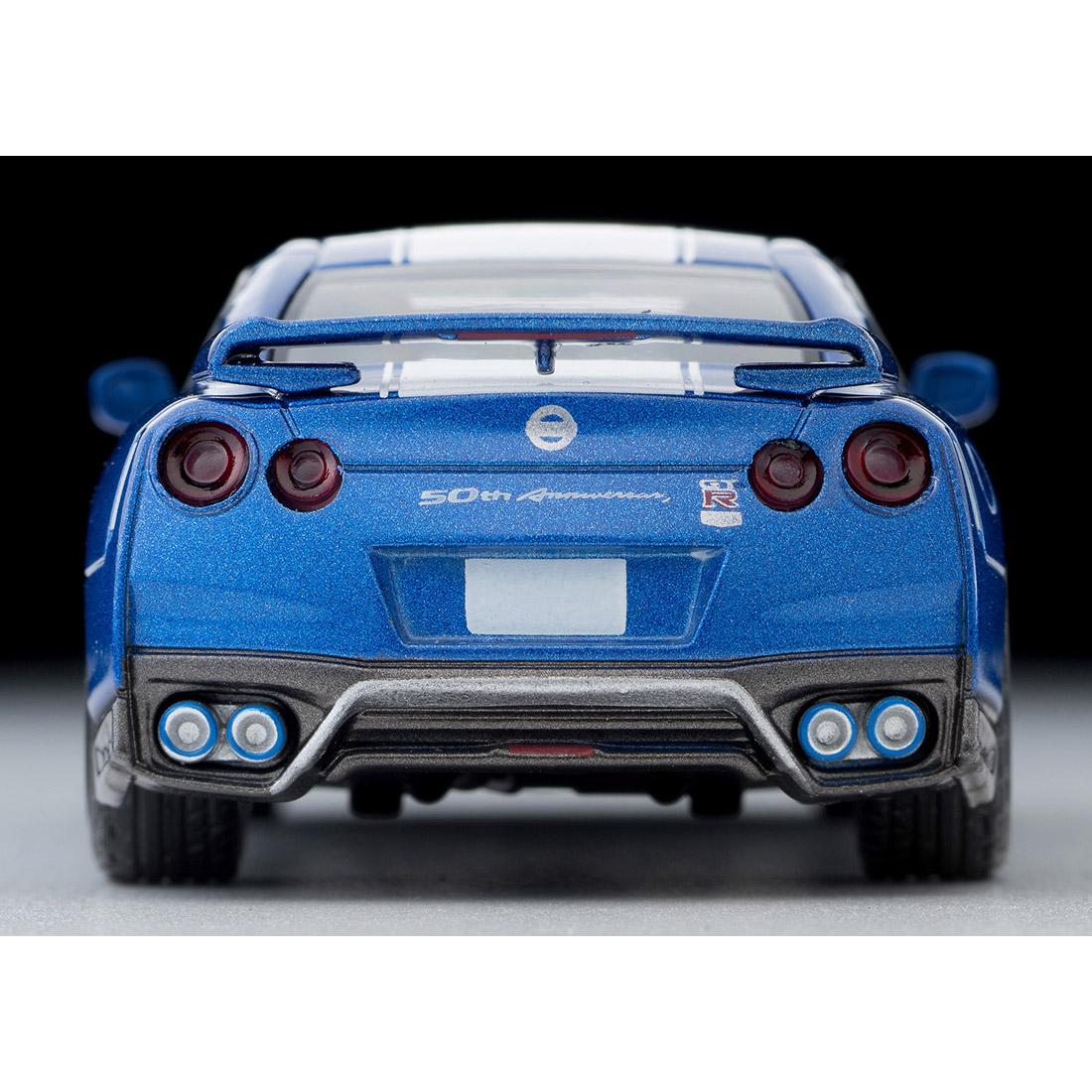 トミカリミテッドヴィンテージ ネオ LV-N200a『日産GT-R 50th ANNIVERSARY(青)』1/64 ミニカー-005