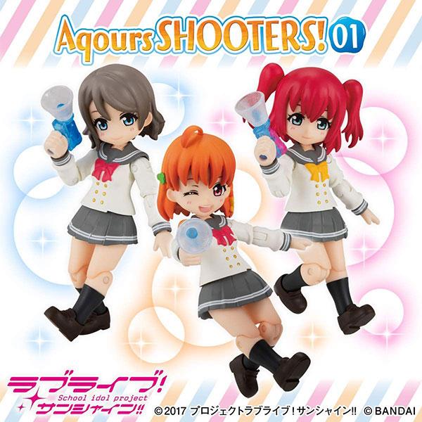 アクアシューターズ!『Aqours SHOOTERS!01』3個入りBOX