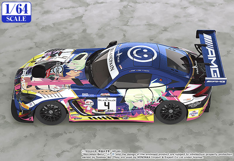 1/64『プロメア #4 Mercedes-AMG Team Black Falcon 2019 SPA24H ver.』ミニカー-003