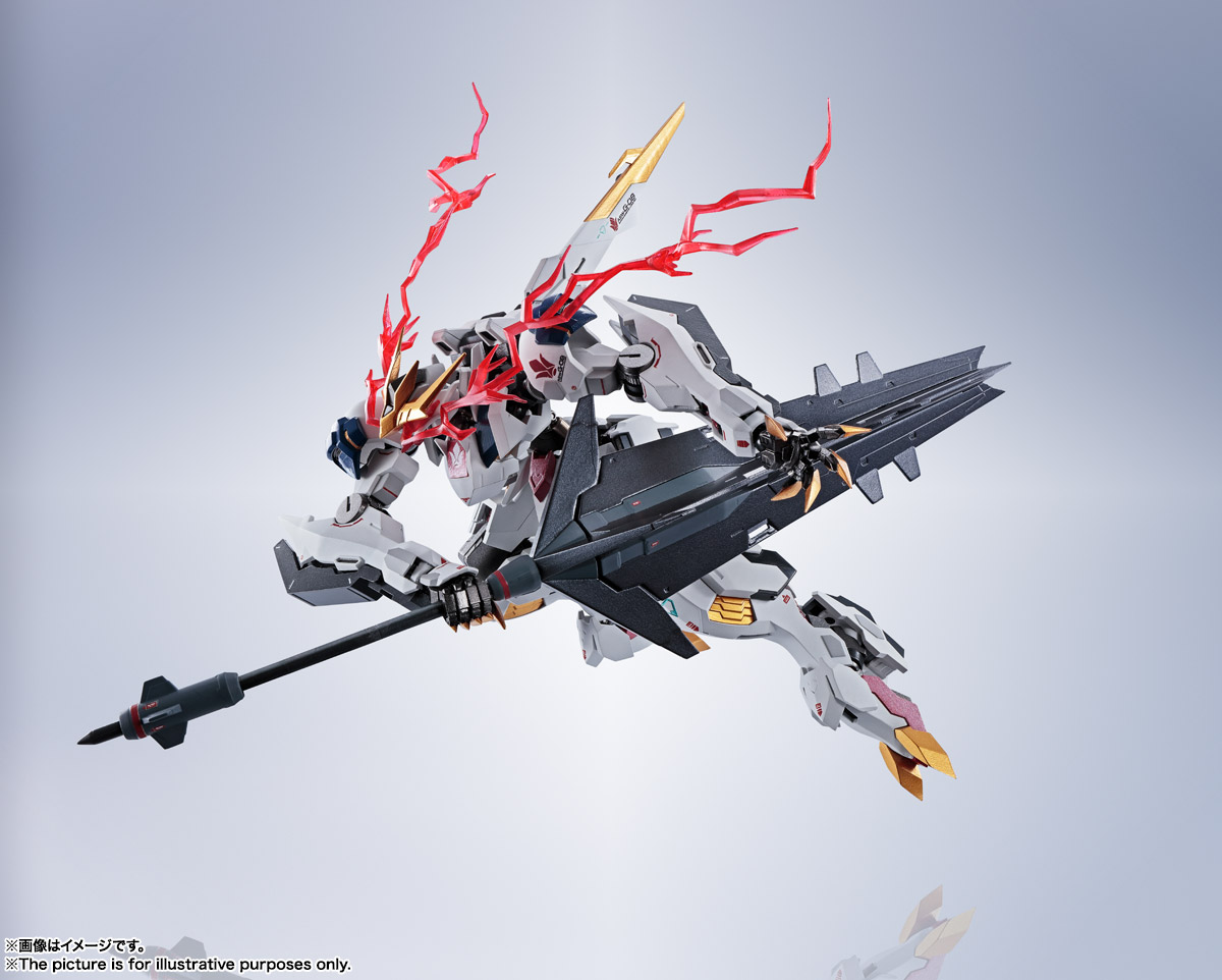 METAL ROBOT魂〈SIDE MS〉『ガンダムバルバトスルプスレクス』鉄血のオルフェンズ 可動フィギュア-001