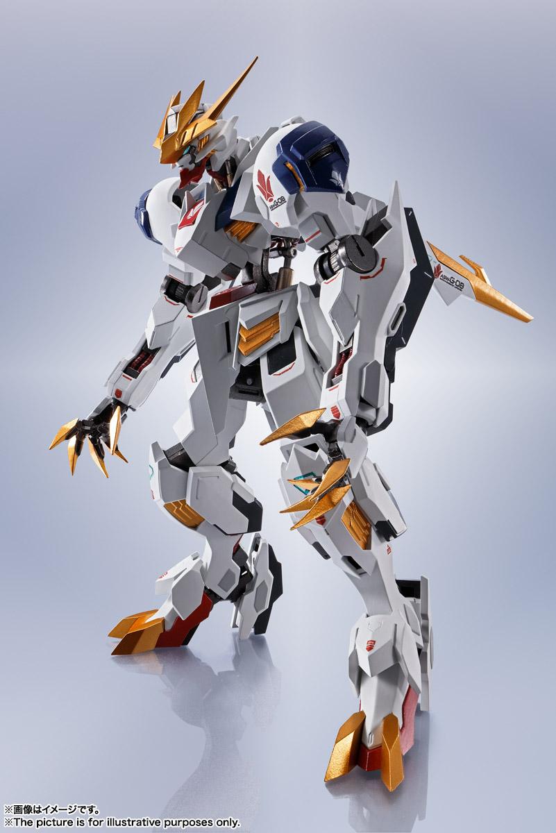 METAL ROBOT魂〈SIDE MS〉『ガンダムバルバトスルプスレクス』鉄血のオルフェンズ 可動フィギュア-002