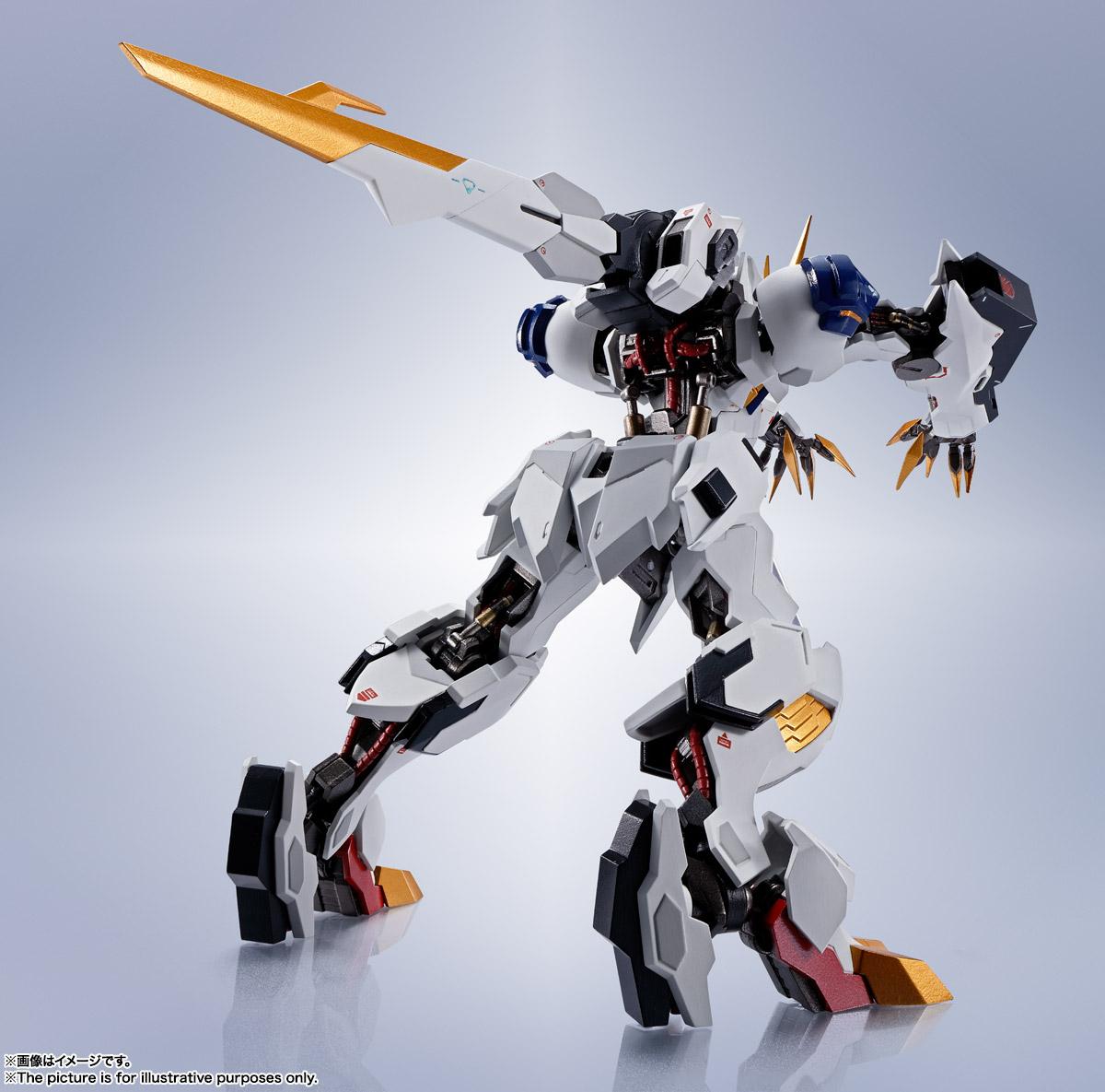 METAL ROBOT魂〈SIDE MS〉『ガンダムバルバトスルプスレクス』鉄血のオルフェンズ 可動フィギュア-003