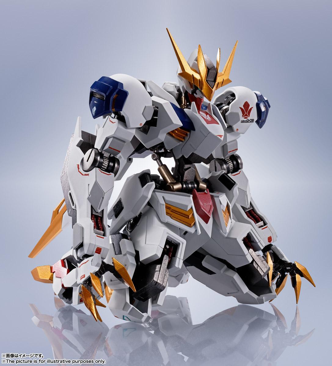 METAL ROBOT魂〈SIDE MS〉『ガンダムバルバトスルプスレクス』鉄血のオルフェンズ 可動フィギュア-009