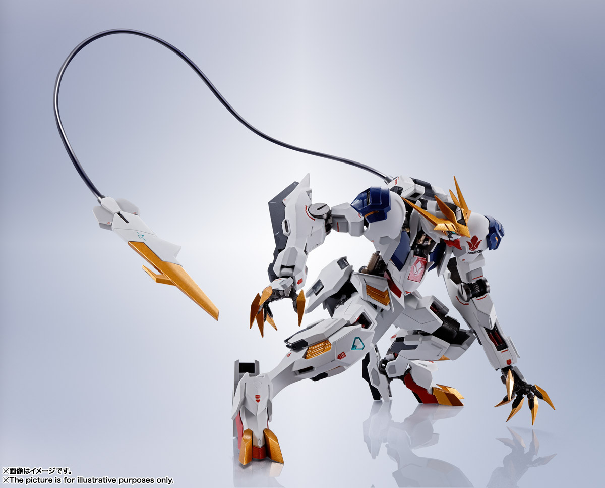 METAL ROBOT魂〈SIDE MS〉『ガンダムバルバトスルプスレクス』鉄血のオルフェンズ 可動フィギュア-012