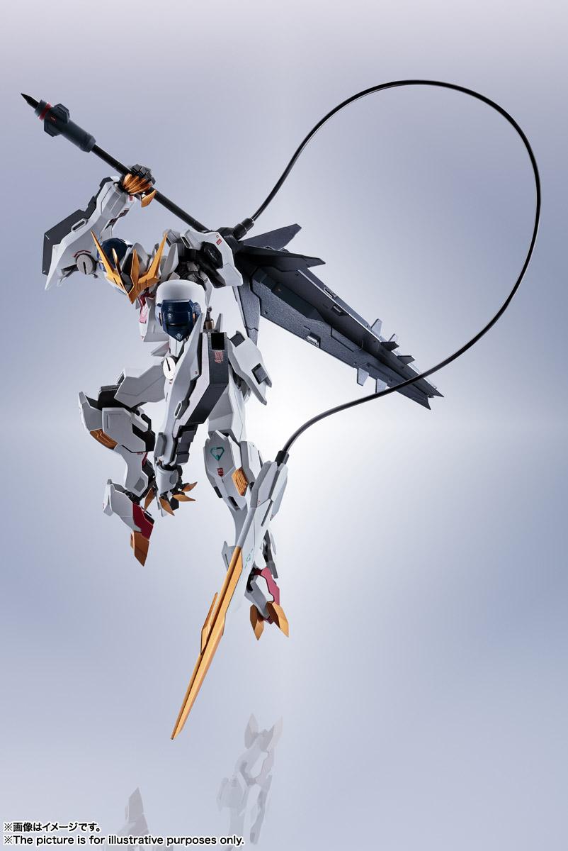 METAL ROBOT魂〈SIDE MS〉『ガンダムバルバトスルプスレクス』鉄血のオルフェンズ 可動フィギュア-013