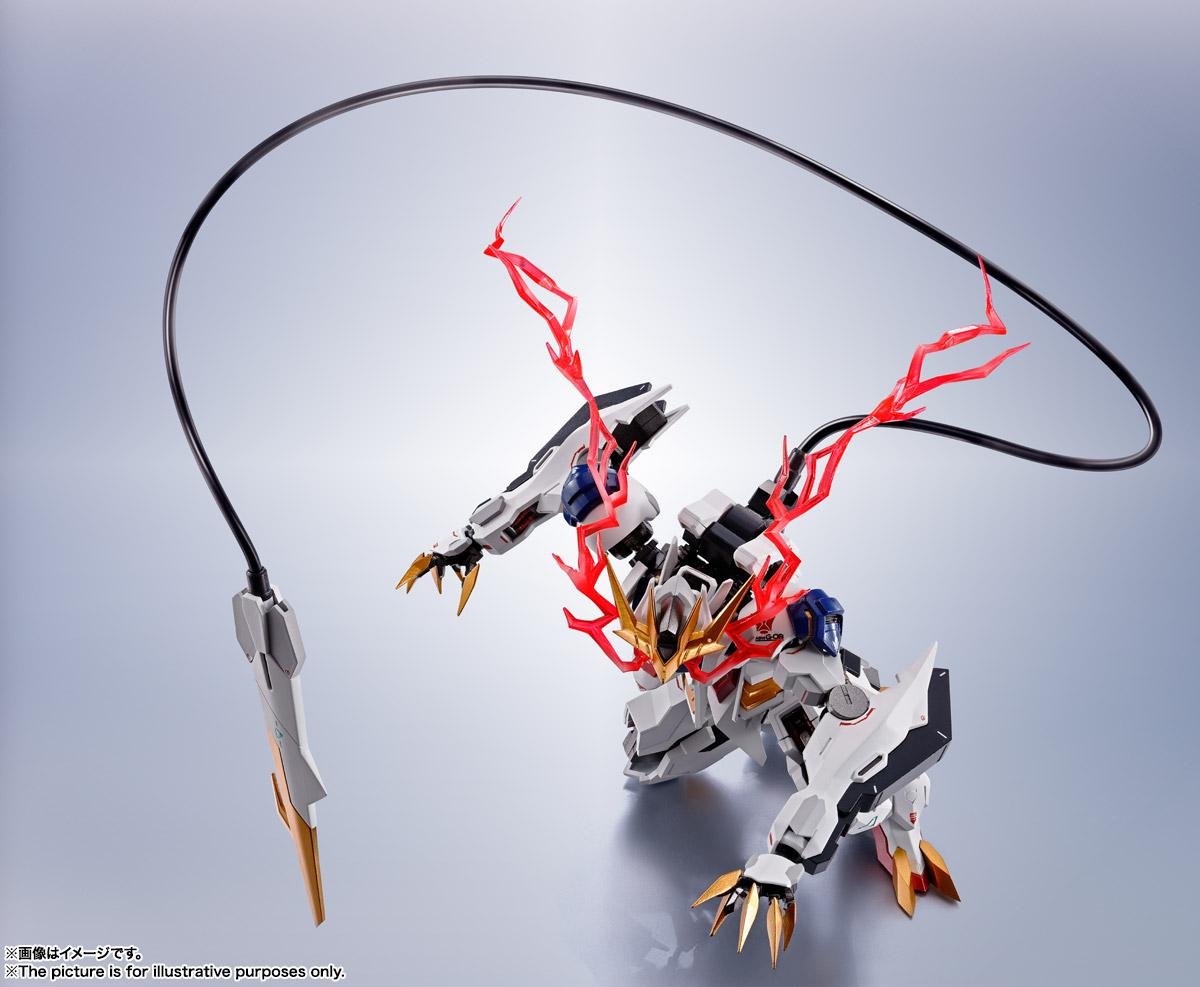 METAL ROBOT魂〈SIDE MS〉『ガンダムバルバトスルプスレクス』鉄血のオルフェンズ 可動フィギュア-014