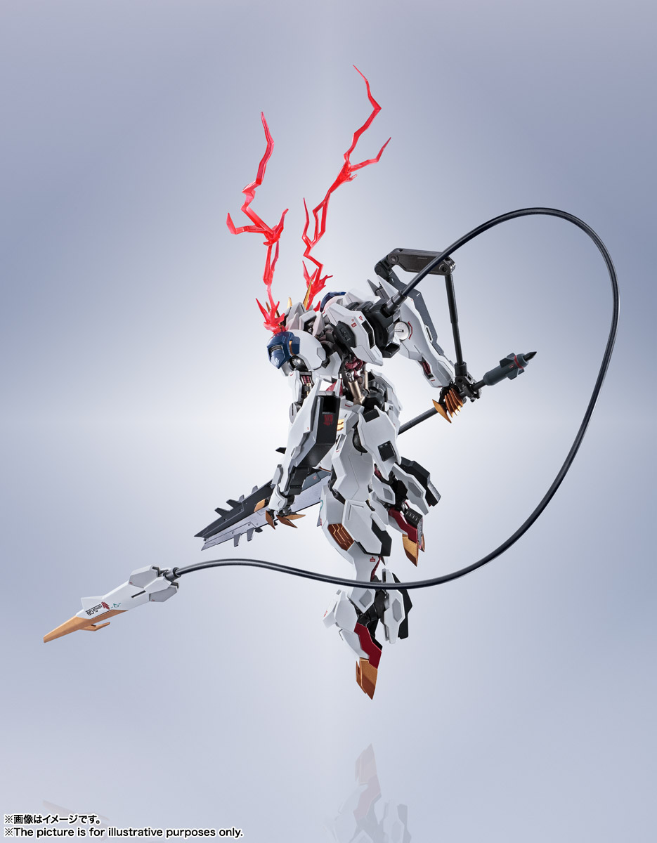 METAL ROBOT魂〈SIDE MS〉『ガンダムバルバトスルプスレクス』鉄血のオルフェンズ 可動フィギュア-015