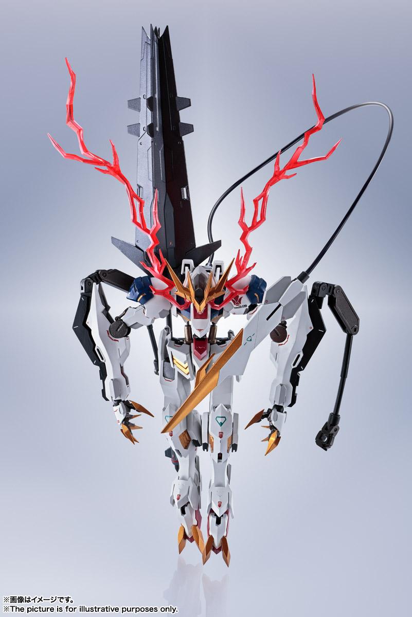 METAL ROBOT魂〈SIDE MS〉『ガンダムバルバトスルプスレクス』鉄血のオルフェンズ 可動フィギュア-016