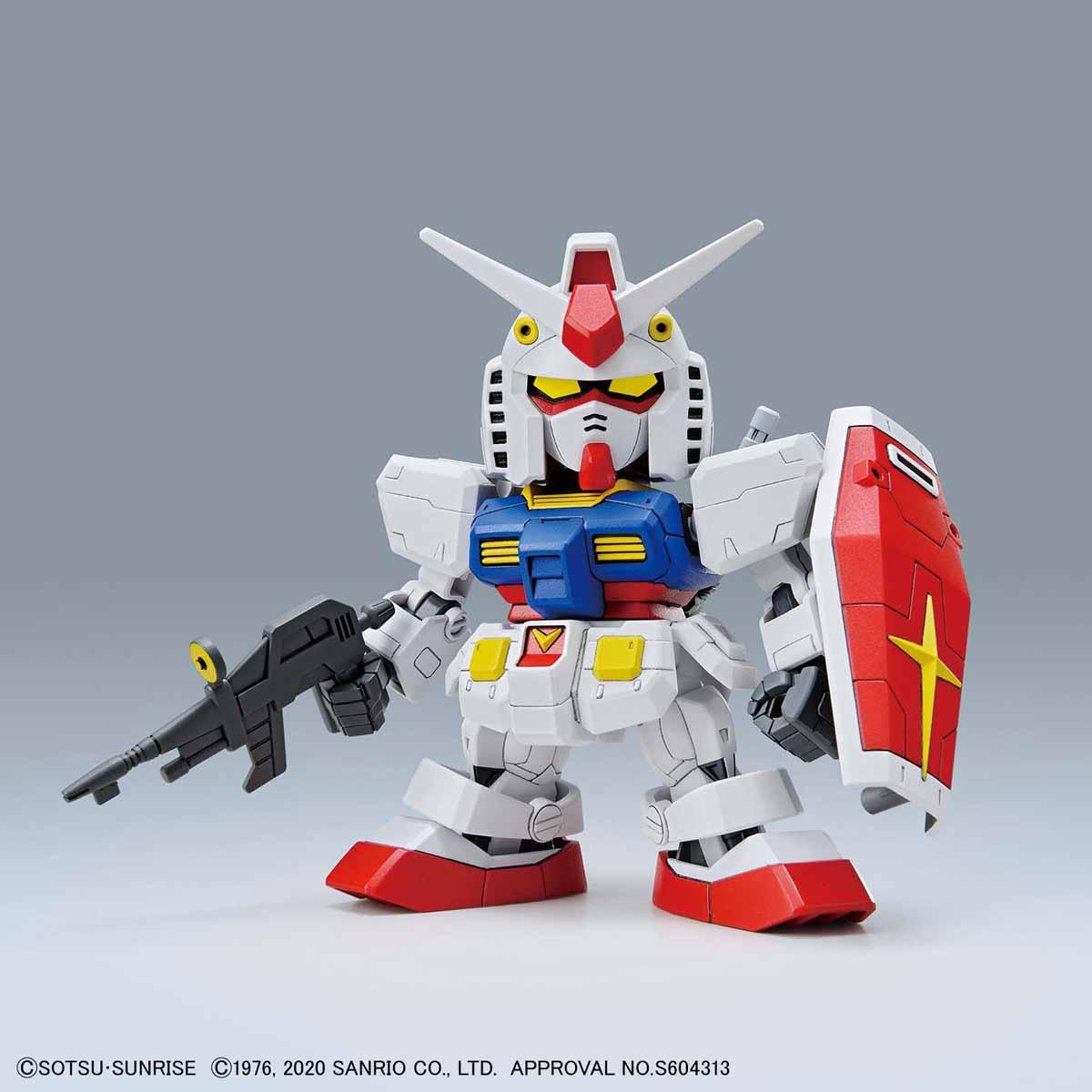 【再販】SDエクスタンダード『ハローキティ / RX-78-2 ガンダム[SD EX-STANDARD]』プラモデル-005