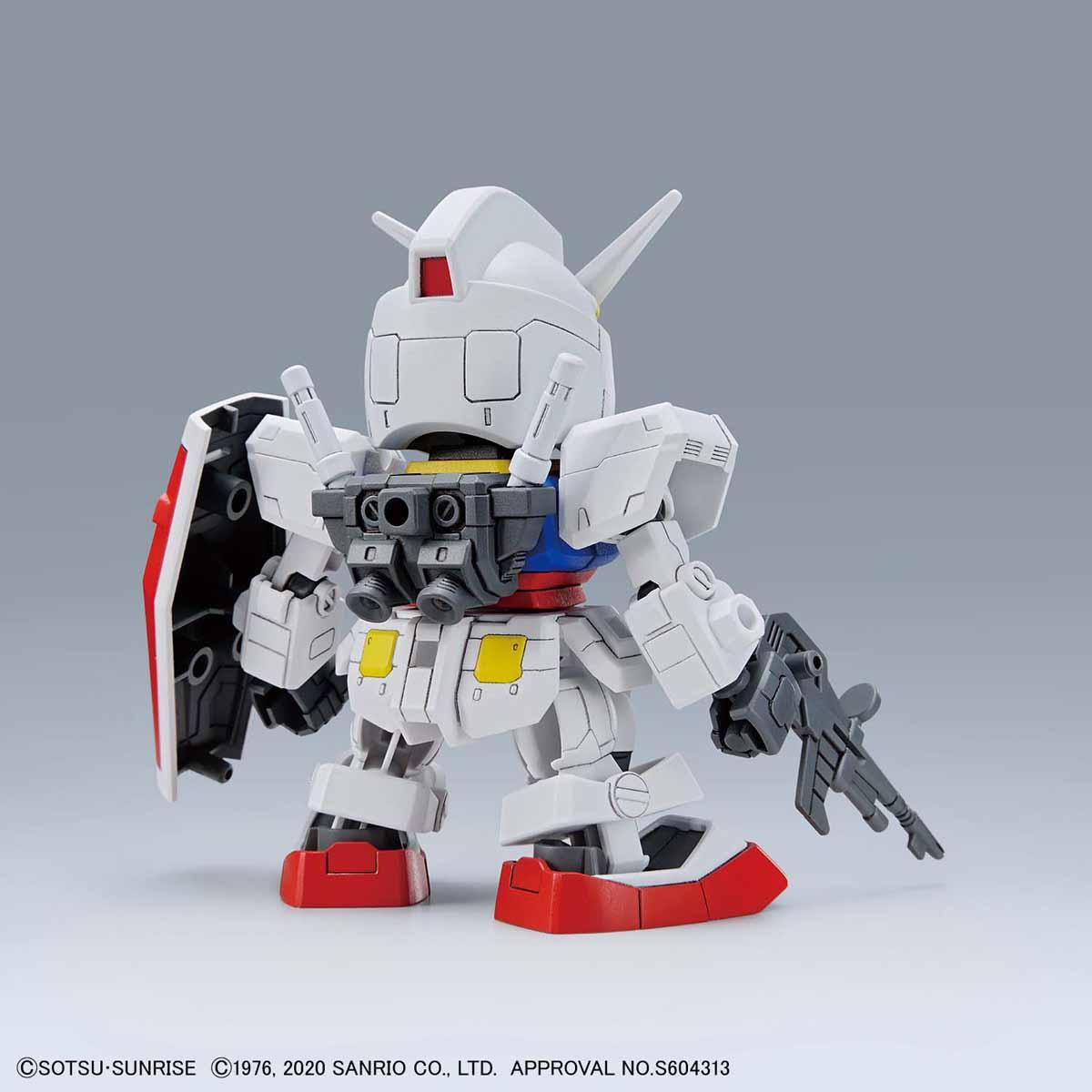 【再販】SDエクスタンダード『ハローキティ / RX-78-2 ガンダム[SD EX-STANDARD]』プラモデル-006