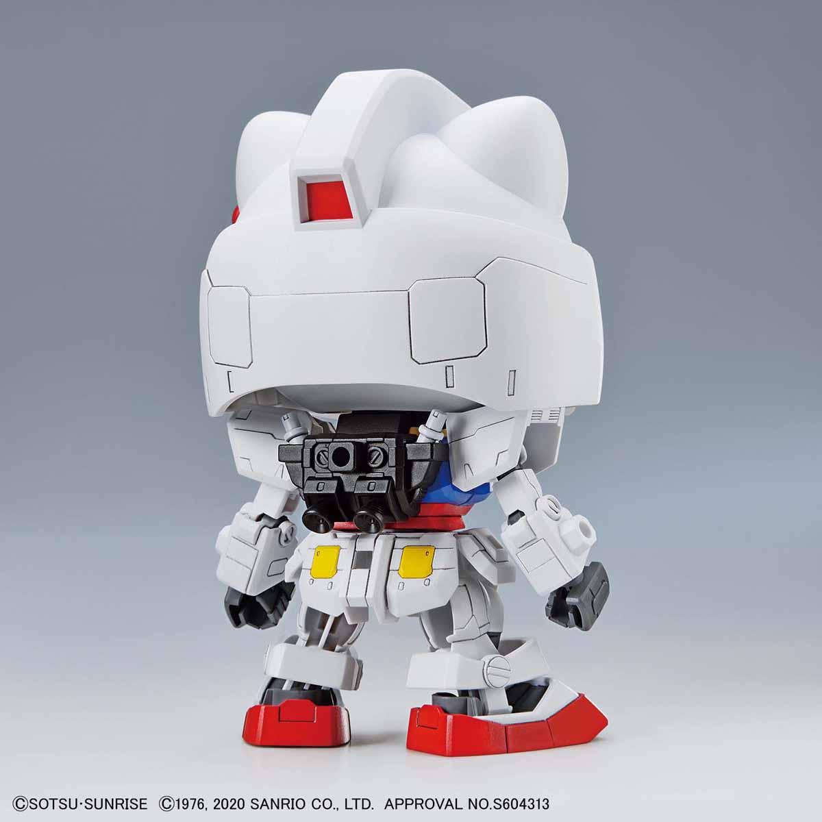 【再販】SDエクスタンダード『ハローキティ / RX-78-2 ガンダム[SD EX-STANDARD]』プラモデル-007