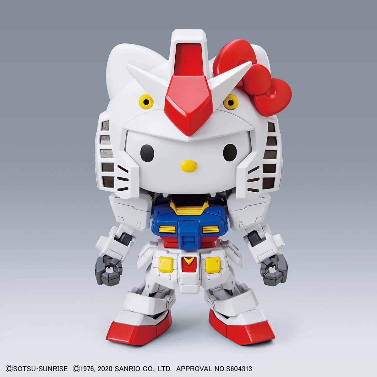 【再販】SDエクスタンダード『ハローキティ / RX-78-2 ガンダム[SD EX-STANDARD]』プラモデル-008