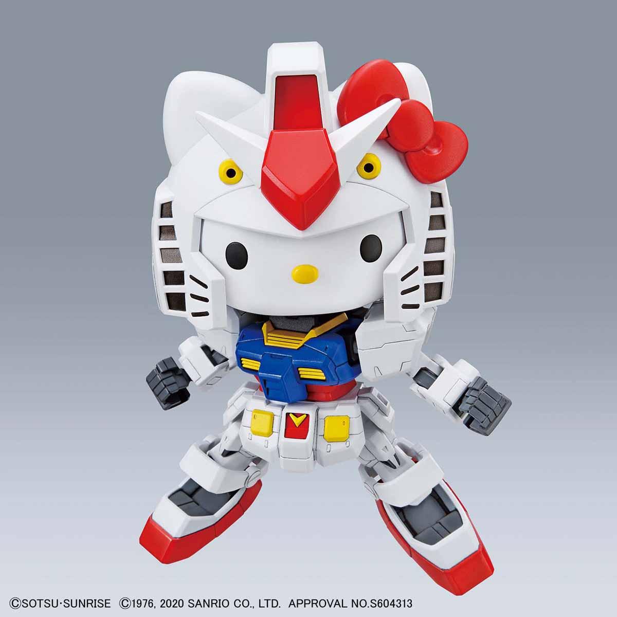 【再販】SDエクスタンダード『ハローキティ / RX-78-2 ガンダム[SD EX-STANDARD]』プラモデル-009