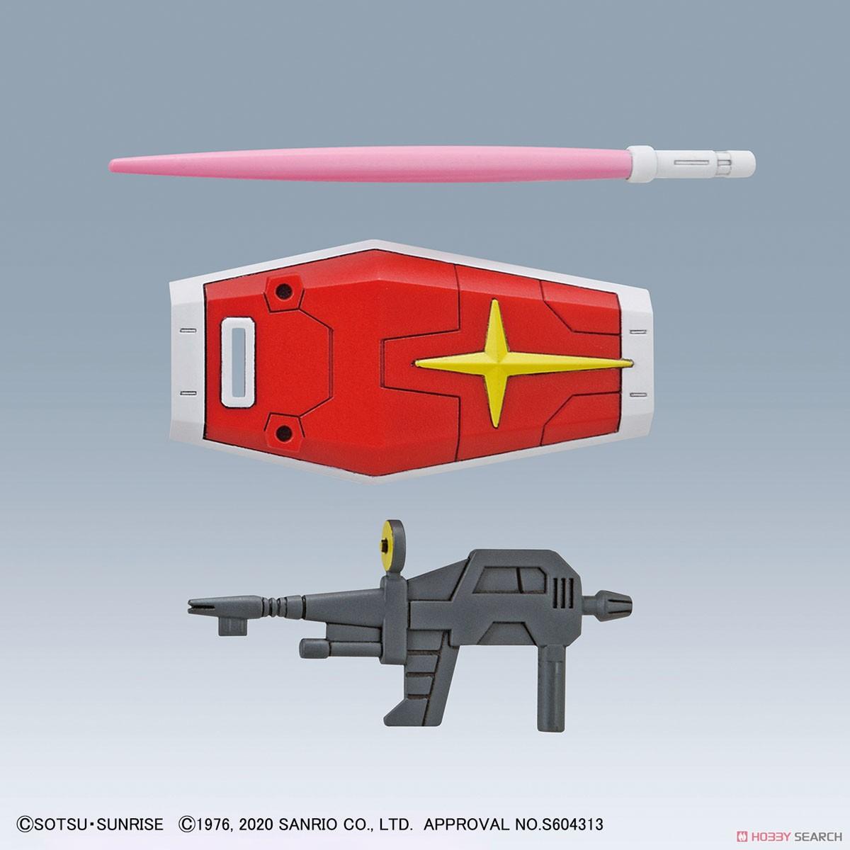 【再販】SDエクスタンダード『ハローキティ / RX-78-2 ガンダム[SD EX-STANDARD]』プラモデル-010