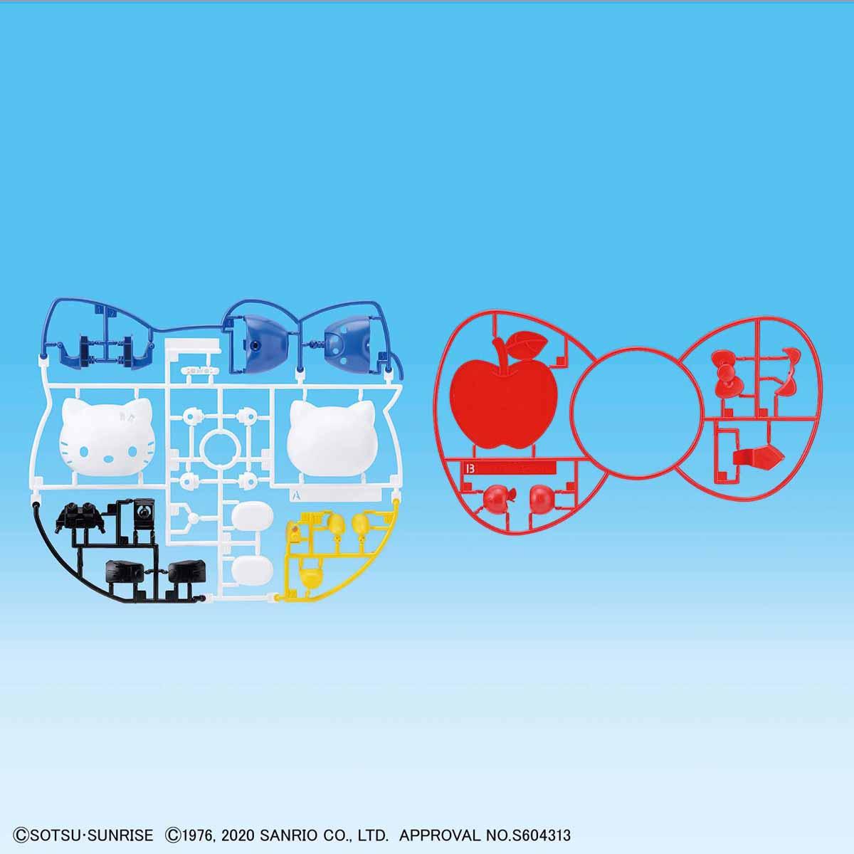 【再販】SDエクスタンダード『ハローキティ / RX-78-2 ガンダム[SD EX-STANDARD]』プラモデル-012