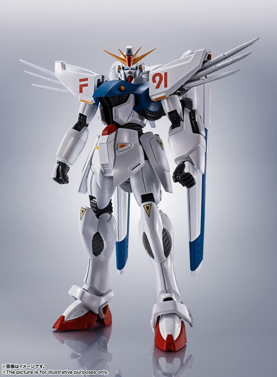 ROBOT魂〈SIDE MS〉『ガンダムF91 EVOLUTION-SPEC』機動戦士ガンダムF91 可動フィギュア-002
