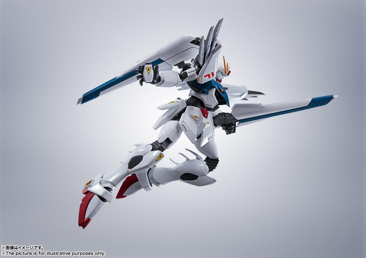 ROBOT魂〈SIDE MS〉『ガンダムF91 EVOLUTION-SPEC』機動戦士ガンダムF91 可動フィギュア-005