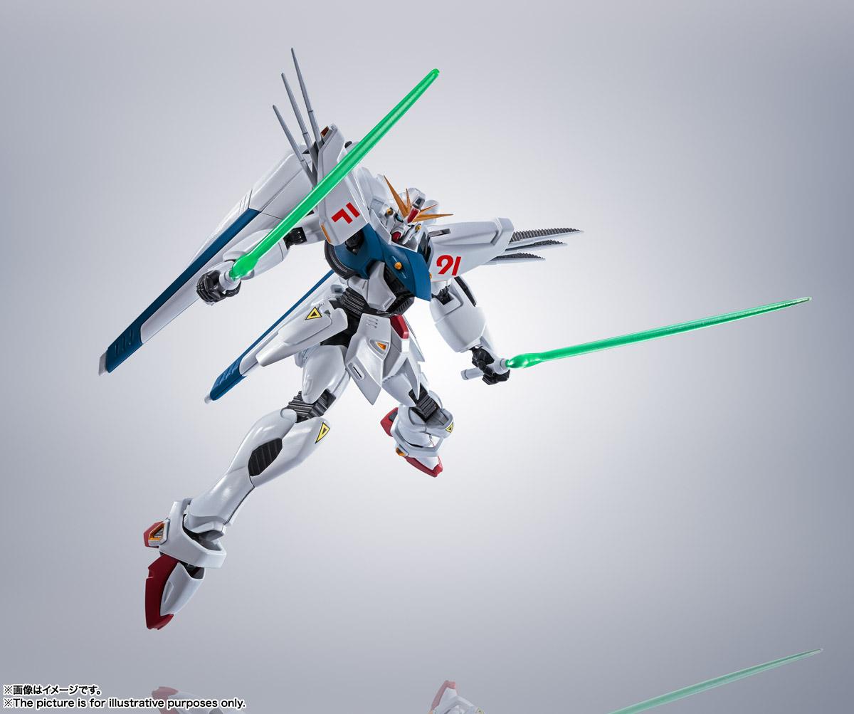 ROBOT魂〈SIDE MS〉『ガンダムF91 EVOLUTION-SPEC』機動戦士ガンダムF91 可動フィギュア-007