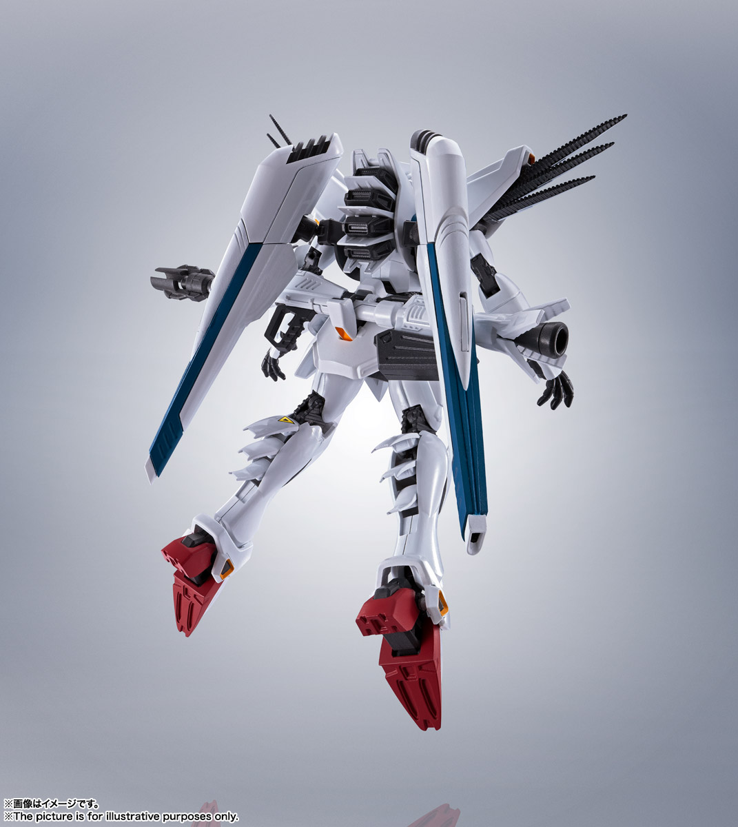 ROBOT魂〈SIDE MS〉『ガンダムF91 EVOLUTION-SPEC』機動戦士ガンダムF91 可動フィギュア-011