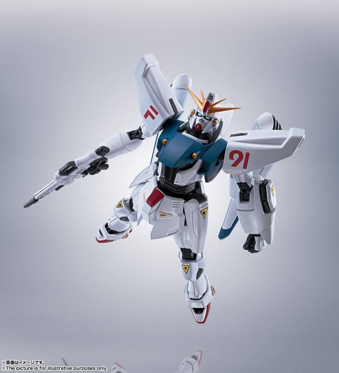 ROBOT魂〈SIDE MS〉『ガンダムF91 EVOLUTION-SPEC』機動戦士ガンダムF91 可動フィギュア-012