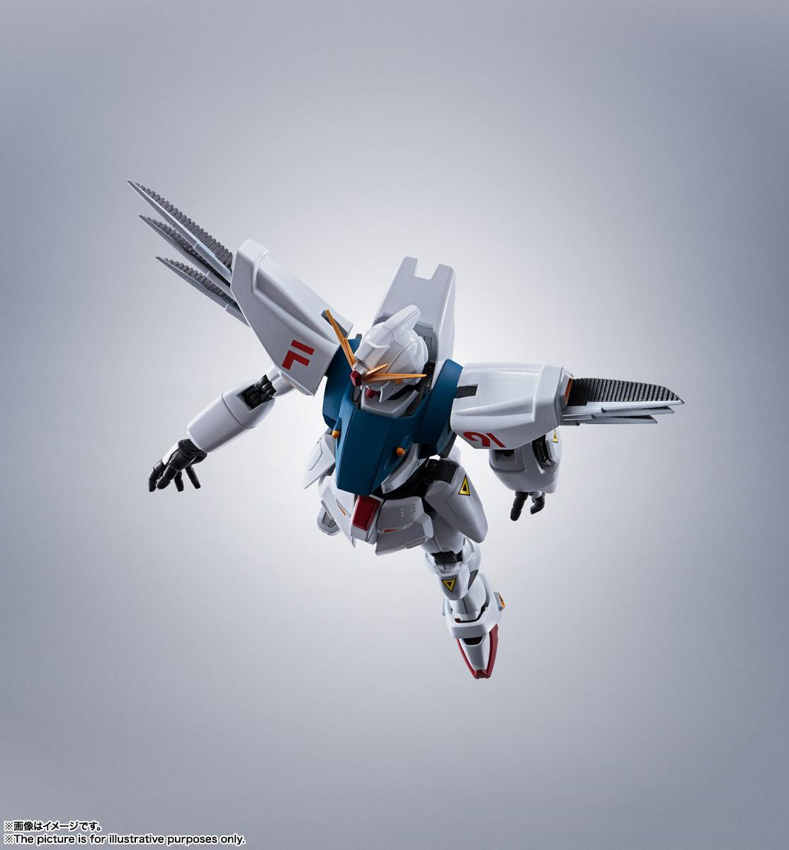 ROBOT魂〈SIDE MS〉『ガンダムF91 EVOLUTION-SPEC』機動戦士ガンダムF91 可動フィギュア-013