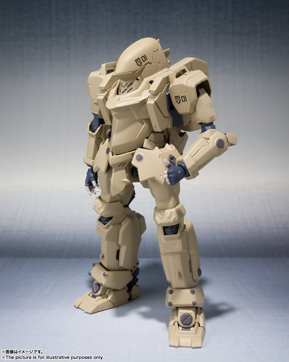 ROBOT魂〈SIDE TA〉『壱七式戦術甲冑雷電』ガサラキ 可動フィギュア-002