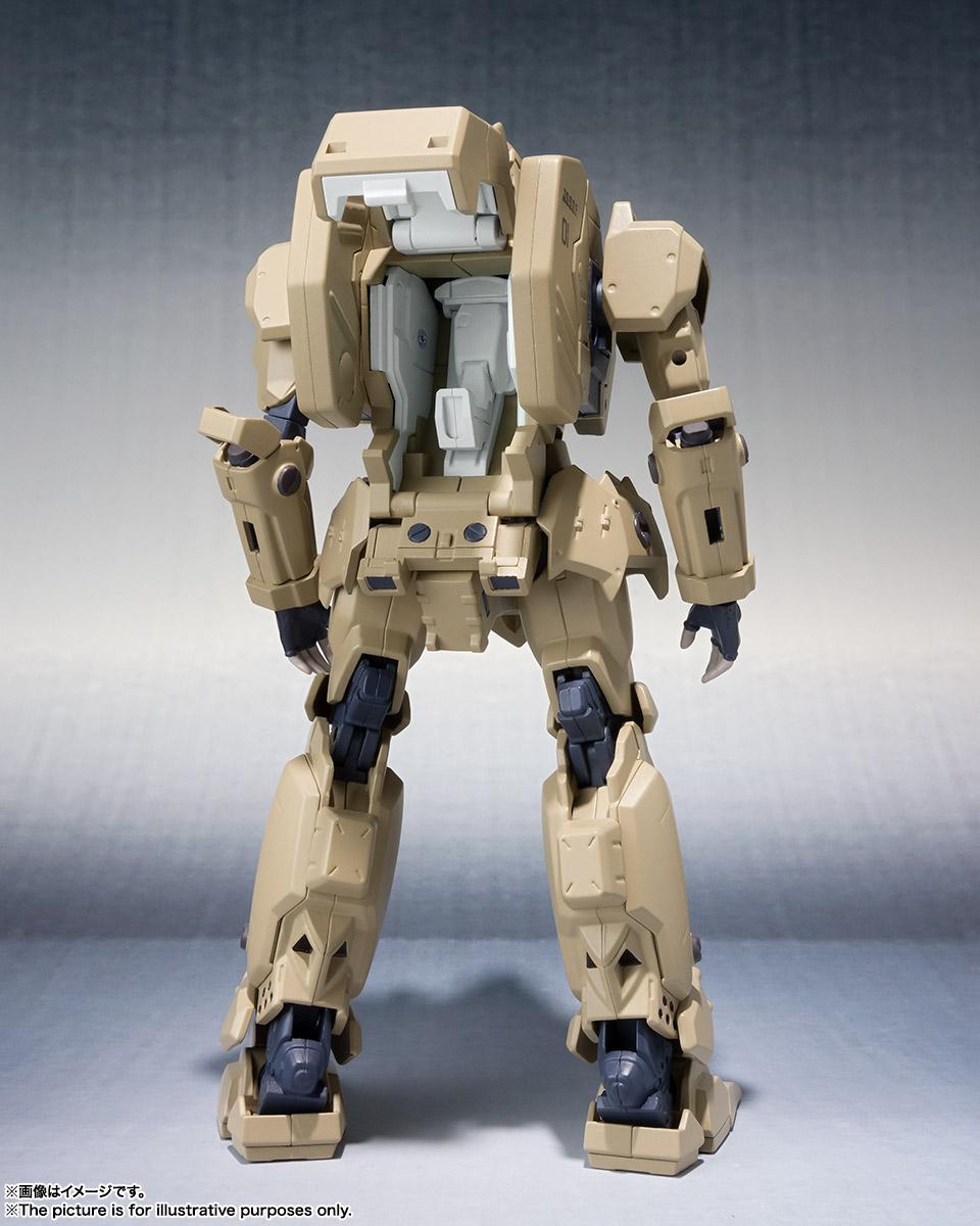 ROBOT魂〈SIDE TA〉『壱七式戦術甲冑雷電』ガサラキ 可動フィギュア-004