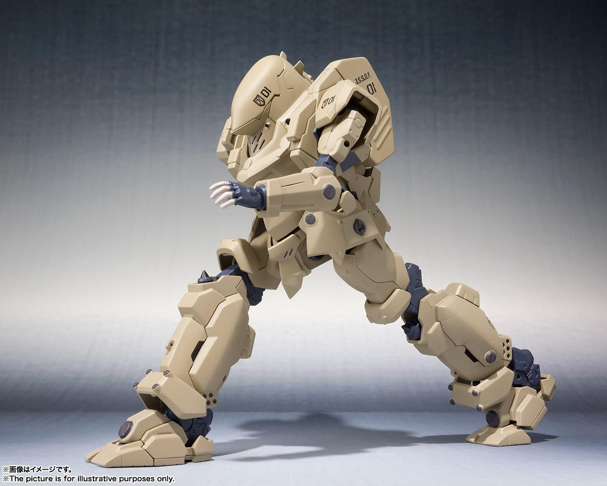 ROBOT魂〈SIDE TA〉『壱七式戦術甲冑雷電』ガサラキ 可動フィギュア-005