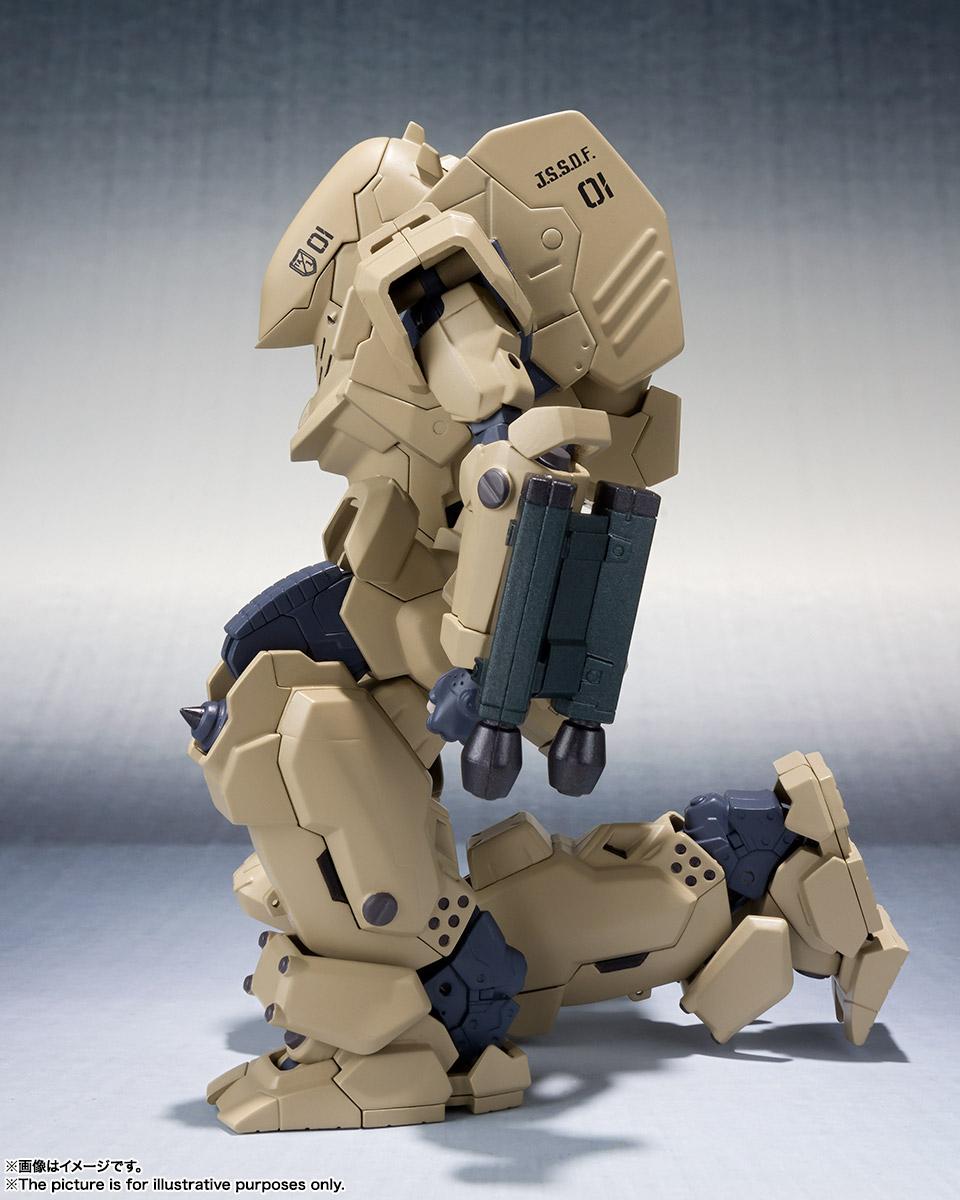 ROBOT魂〈SIDE TA〉『壱七式戦術甲冑雷電』ガサラキ 可動フィギュア-007