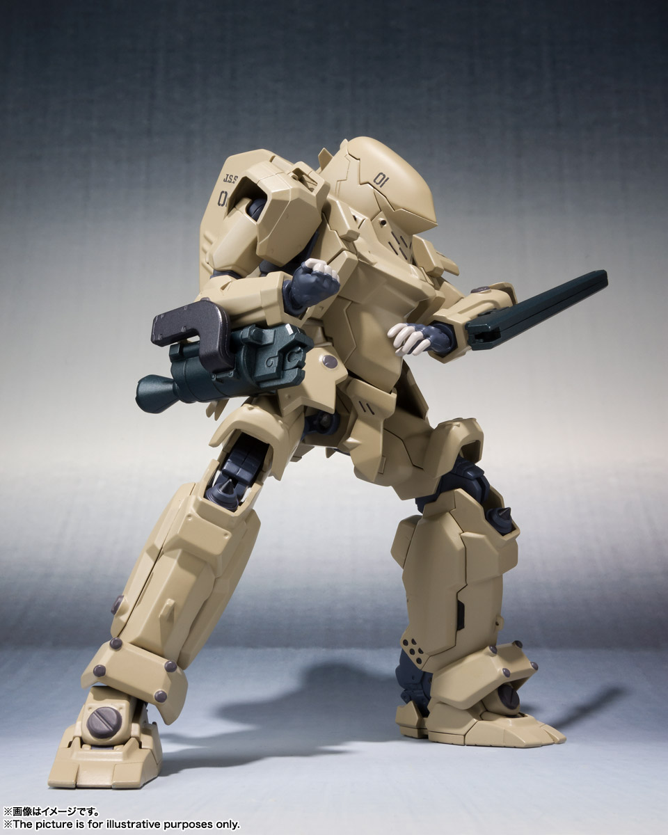 ROBOT魂〈SIDE TA〉『壱七式戦術甲冑雷電』ガサラキ 可動フィギュア-008