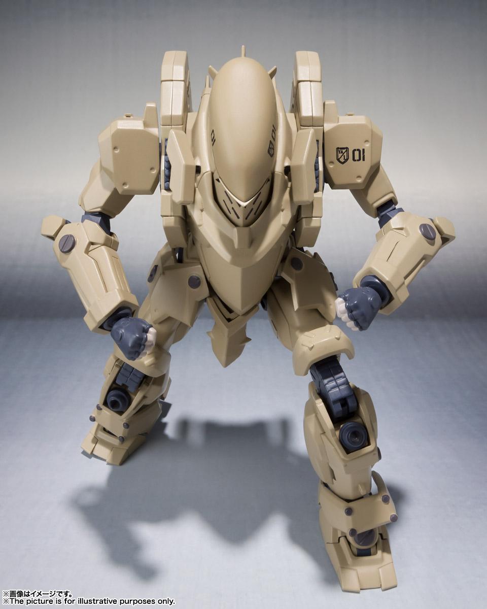 ROBOT魂〈SIDE TA〉『壱七式戦術甲冑雷電』ガサラキ 可動フィギュア-009