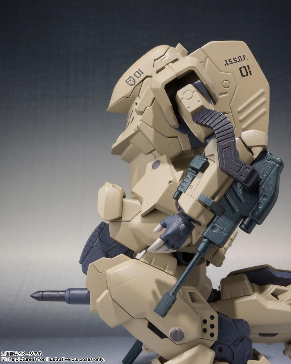 ROBOT魂〈SIDE TA〉『壱七式戦術甲冑雷電』ガサラキ 可動フィギュア-010