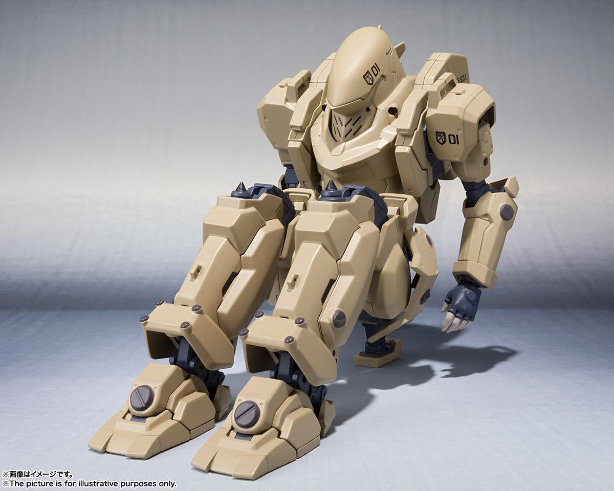 ROBOT魂〈SIDE TA〉『壱七式戦術甲冑雷電』ガサラキ 可動フィギュア-012