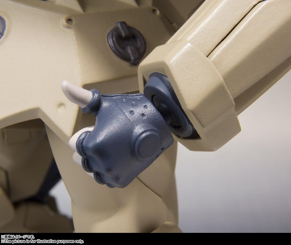 ROBOT魂〈SIDE TA〉『壱七式戦術甲冑雷電』ガサラキ 可動フィギュア-014