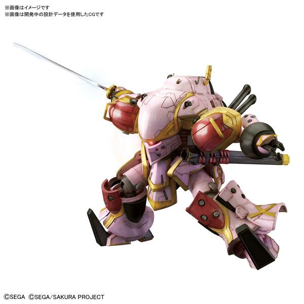 HG 1/24『霊子戦闘機・無限(天宮さくら機)』新サクラ大戦 プラモデル