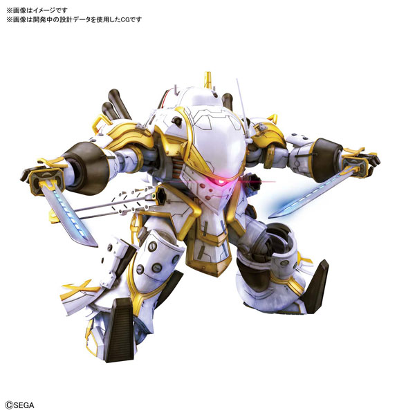 HG 1/24『霊子戦闘機・無限(神山誠十郎機)』新サクラ大戦 プラモデル