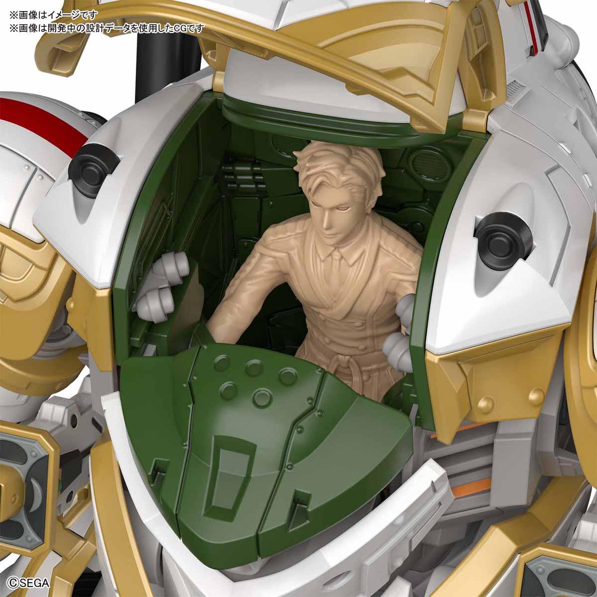 HG 1/24『霊子戦闘機・無限(神山誠十郎機)』新サクラ大戦 プラモデル-004